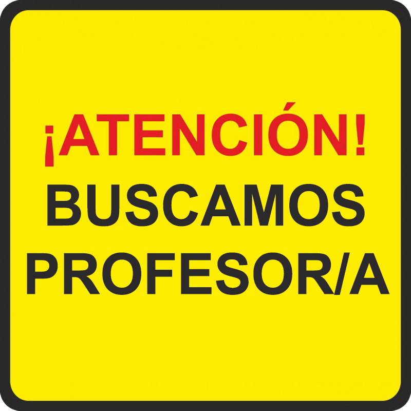 BUSCAMOS PROFESOR