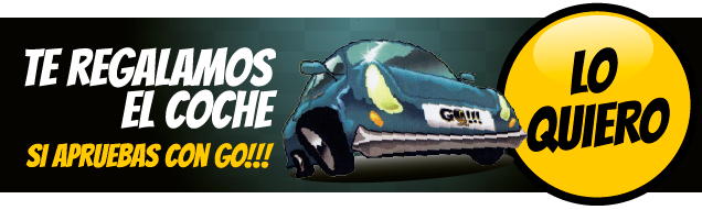 Sorteo coche Autoescuelas GO!!!