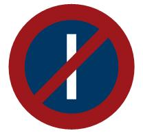 Prohibido aparcar los días impares