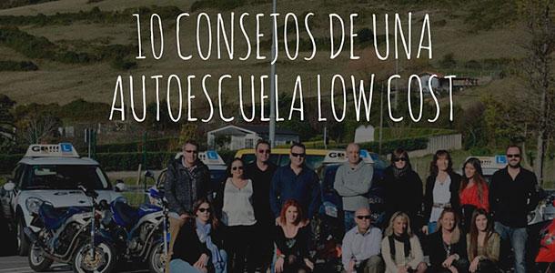 10 consejos autoescuelas low cost en Bilbao y Getxo