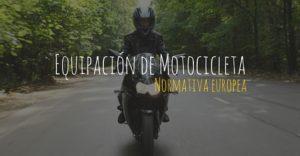 Equipación de moto