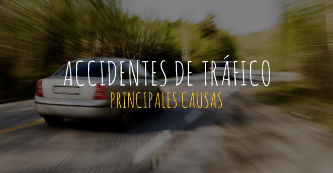 causas de un accidente de tráfico