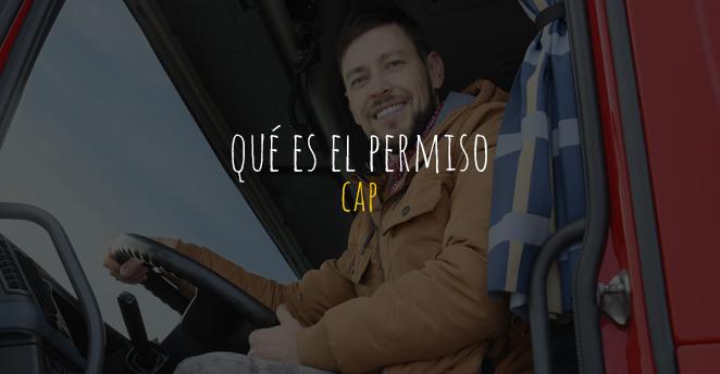 Qué es el permiso CAP